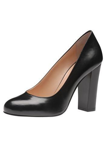 Klasse und Stil zeigen Sie mit dem neuen Damenpumps aus italienischer Manufaktur von Evita Shoes. Edel schimmerndes Leder, eine robuste wie elegante Silhouette und ein bequemer Blockabsatz machen aus dem Modell den idealen Begleiter zu Kostüm, Anzug und Co für überzeugende Auftritte.