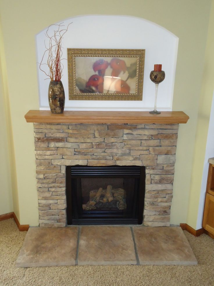 17 best stone fireplaces and tvs images on pinterest for Stone fireplace makeover ideas