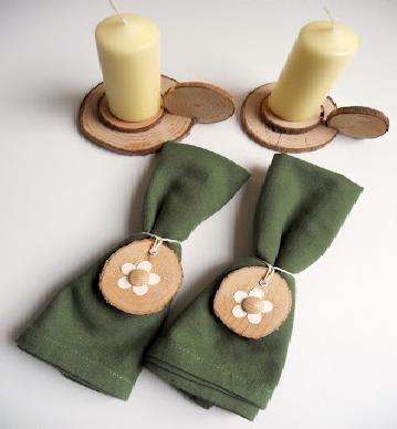 #matildetiramisu #concorso Cena in montagna. Materiali green ed economici e tanta fantasia, con i quali possiamo creare oggetti che possono decorare la nostra tavola!!!