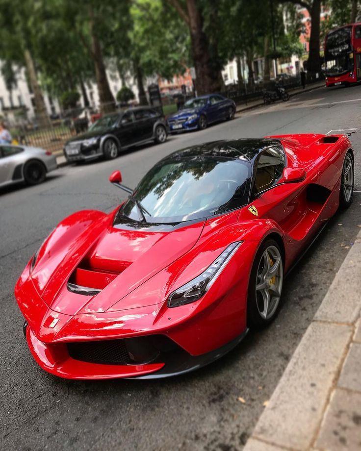 La Ferrari #laferrari #ferrari #red #supercar #hypercar – dream car – – Luxury Cars