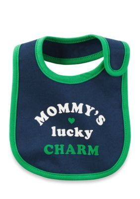 Carters  Mommys Lucky Charm Bib