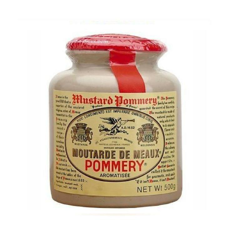 Moutarde de Meaux Mustard, Pommery - 17.6 oz jar
