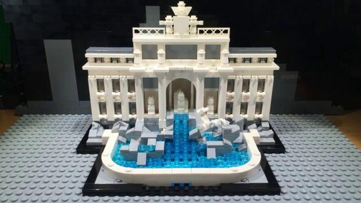 Lego Architecture Trevi Fountain - 21020