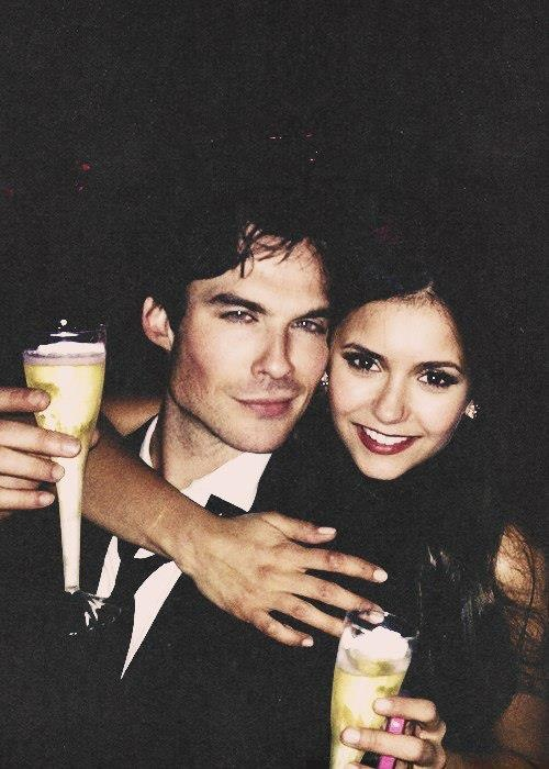 Ian Somerhalder and Nina Dobrev.