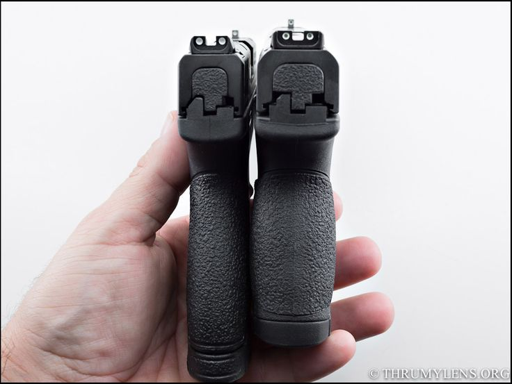 M&P+Shield+Review   Shield (left) Compared to the M&P 9c (right)