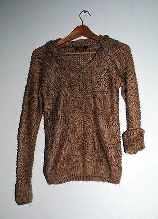 Kup mój przedmiot na #vintedpl http://www.vinted.pl/damska-odziez/swetry-z-dzianiny/7815284-sweter-warkocze-rozm-s-bezowy