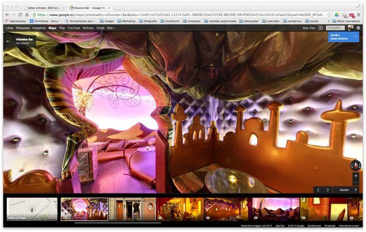 Infussion, teteria, cafeteria i cockteleria, decorada a l'estil Aladdin http://www.infussionbar.com/
