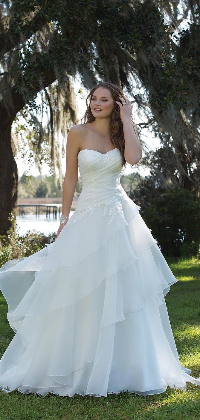 445 best Wedding Dresses - Wedding Wishes images on Pinterest