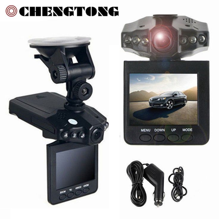 "Hot Mobil Kamera DVR 2.4 ""Full HD 1080 P 120 Derajat Camcorder DVR Dashboard 32 GB Mobil Perekam Video Dash Cam Night Vision a CD006"