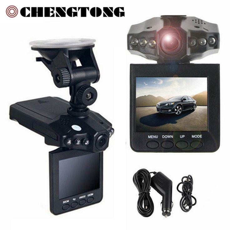 "Hot Mobil Kamera DVR 2.4 ""Full HD 1080 P 120 Derajat Camcorder DVR Dashboard 32 GB Mobil Perekam Video Dash Cam Night Vision a CD006"