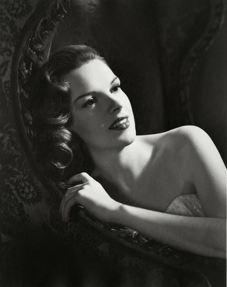 Judy Garland, photo by Eric Carpenter, 1943                              …                                                                                                                                                                                 More