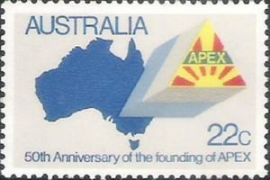 Founding of Apex Service Club