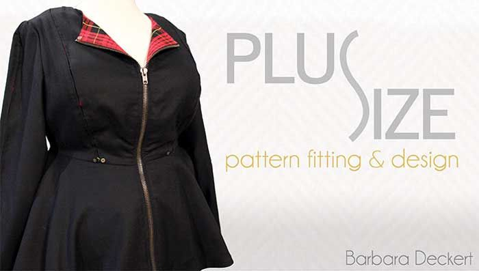 Plus-size women deserve cute clothes! Learn how to make comfortable and flattering garments with Barbara Deckert, author of Sewing for Plus Sizes. Learn ho