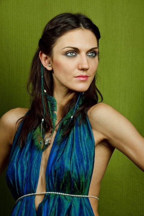 Peacock hair rope