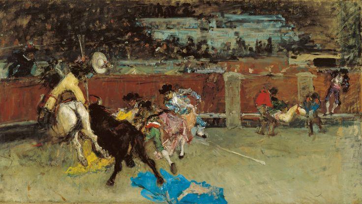 Maria Fortuny-La corrida de toros