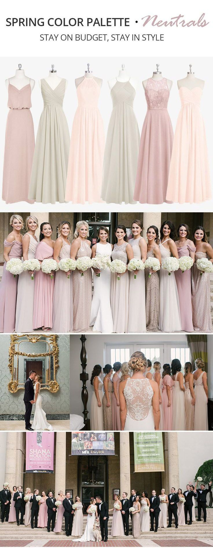 20 Trending Spring Color Palette for Your Bridesmaid Dresses ...