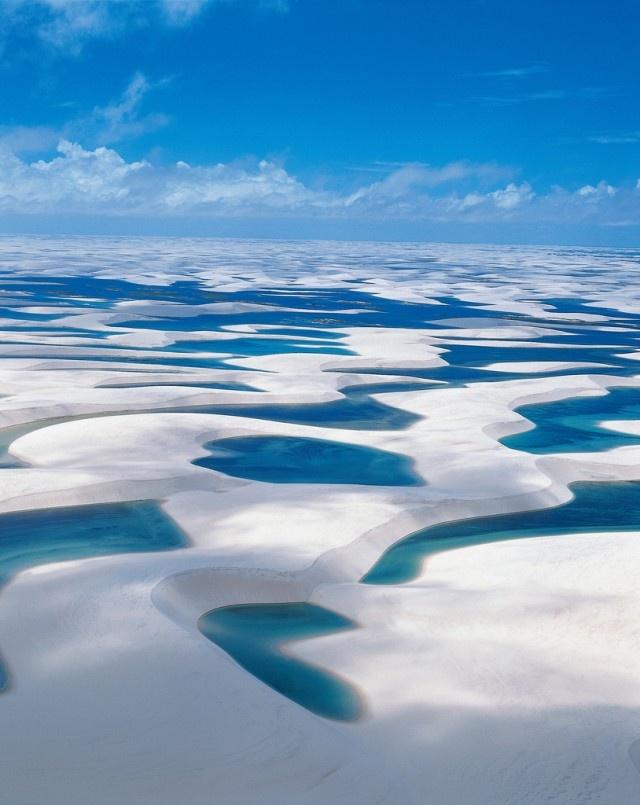 ブラジル、砂丘、雨季①