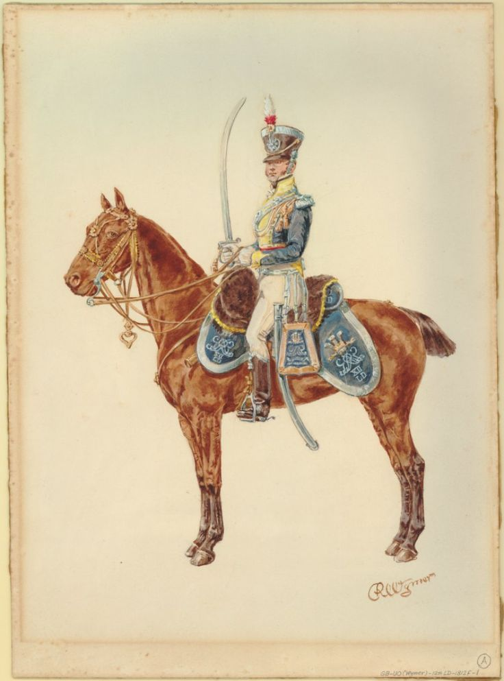 The 12th--the Prince of Wales's--Light Dragoons, c. 1812