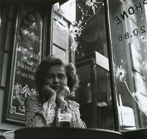 Lee Miller  Mlle. Christiane Poignet, law student, Paris, 1944