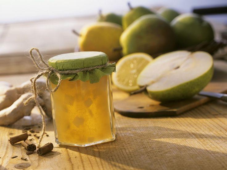 Birnen-Ingwer-Marmelade mit Zimt - smarter - Zeit: 50 Min. | eatsmarter.de