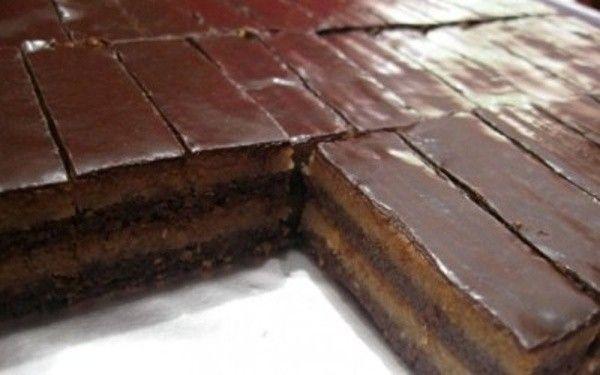 Csokis-diós kekszsüti 20 perc alatt - hozzávalók / 12 adag  60 dkg cukor 20 ek víz 25 dkg margarin 60 dkg darált keksz 60 dkg darált dió 10 dkg főzőcsoki 2 ek kakaó Máz:  5 dkg főzőcsoki 1 ek kakaó étolaj