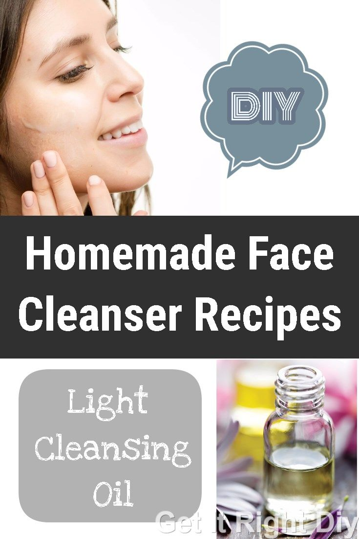 You must try this homemade natural face cleansers that work great for all skin types