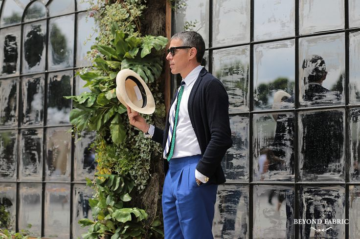 Almost time for Pitti…Mr. Alberto ScaccioniPh: Beyond Fabric