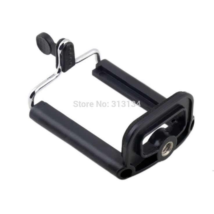 1pc Universal Mobile Cell Phone Camera Stand Clip Holder mount Bracket Adapter Tripod For iPhone For Sumsung For HTC //Price: $0.94//     #shop