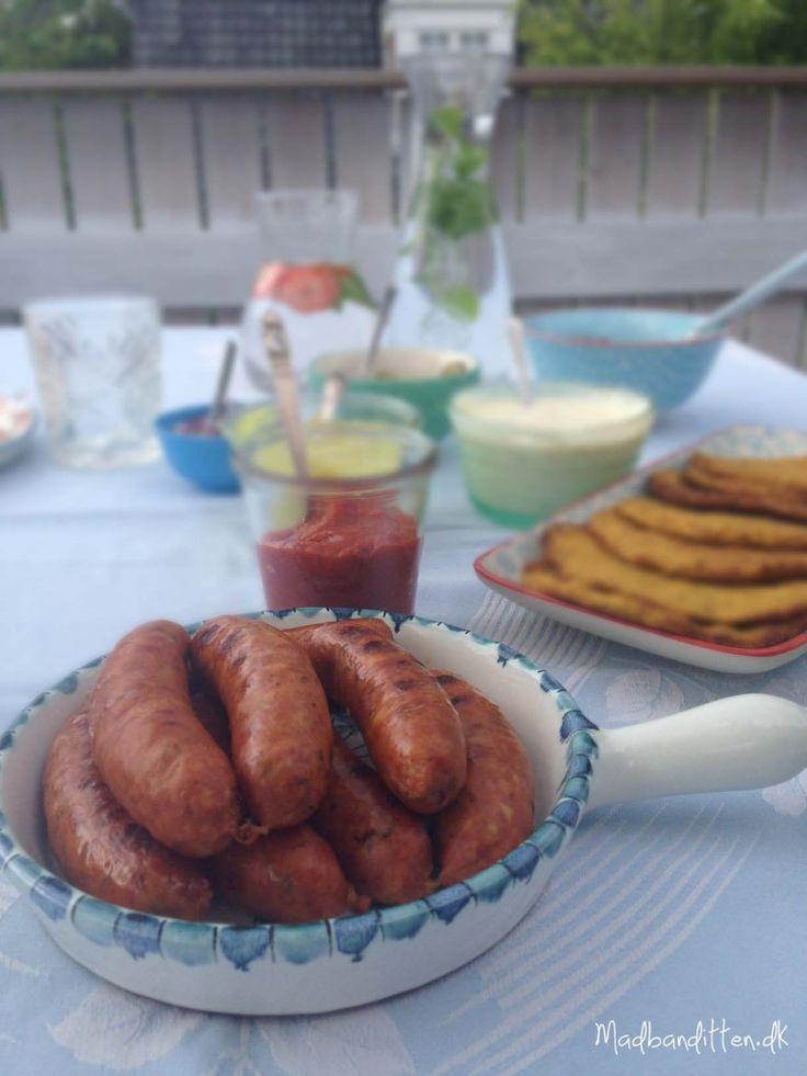 LCHF - hotdog med grøntsagsbrød og hjemmelavet remoulade og ketchup