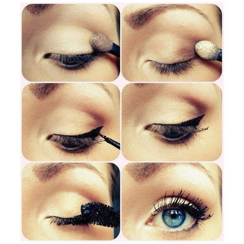 Eye makeup. Great everyday look.