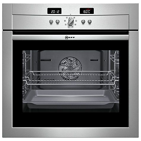Neff B14P42N3GB Single Electric Oven, Stainless Steel