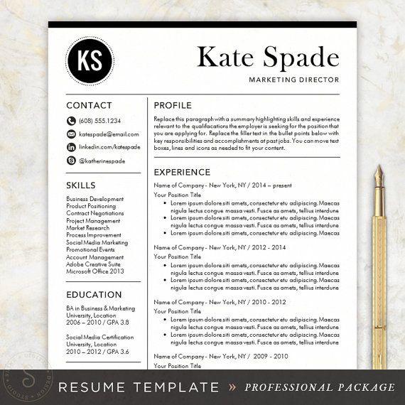 21 best Resume Design - Templates, Ideas ☮ images on Pinterest - resume design templates