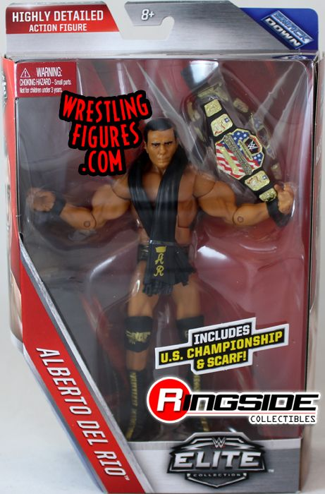 Alberto Del Rio - WWE Elite 43 WWE Toy Wrestling Action Figure