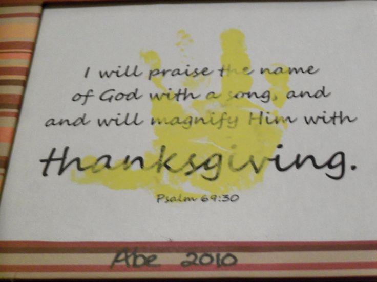 My Heart Is Always Home Thanksgiving Craft Handprint