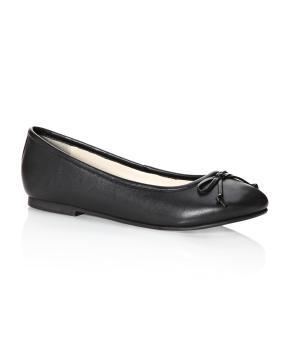 leather ballet flats | Shop Online at Addition Elle