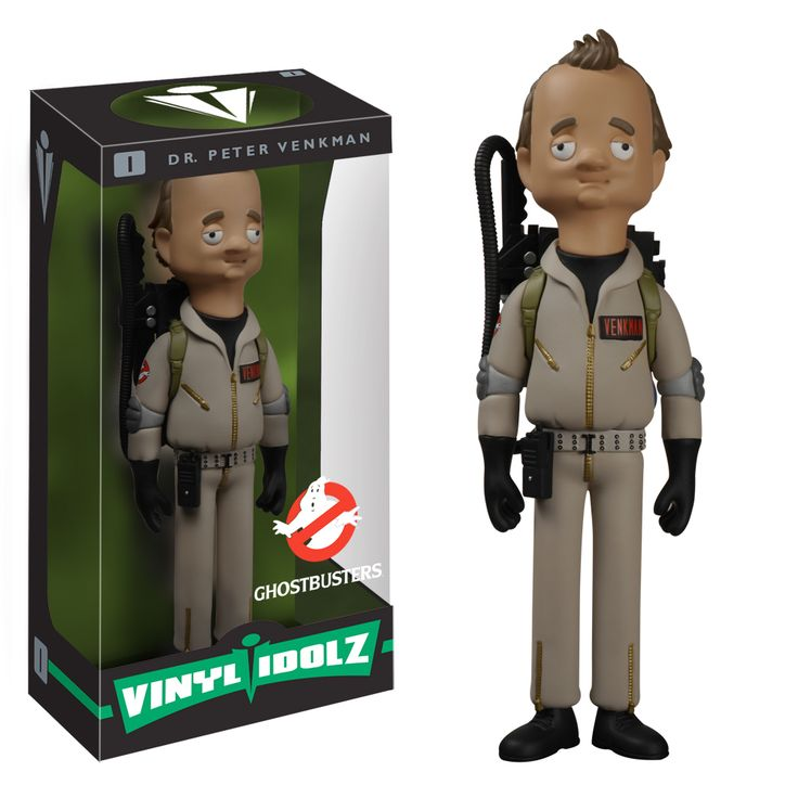 Ghostbusters - Dr Peter Venkman Vinyl Idolz - FunKo in Toys & Hobbies,  Action Figures, Anime & Manga