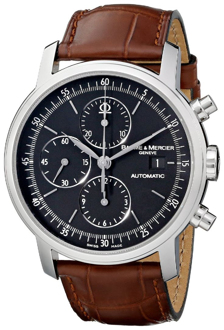 120 best images about men s watches the internet men watches best luxury watches for men baume mercier men s moa08589 classima executive analog display