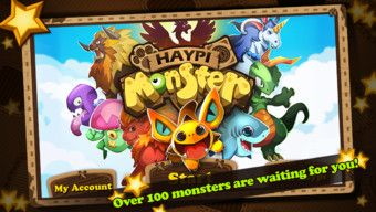 Best iPhone App & iPad App: Haypi-monster-for-venide