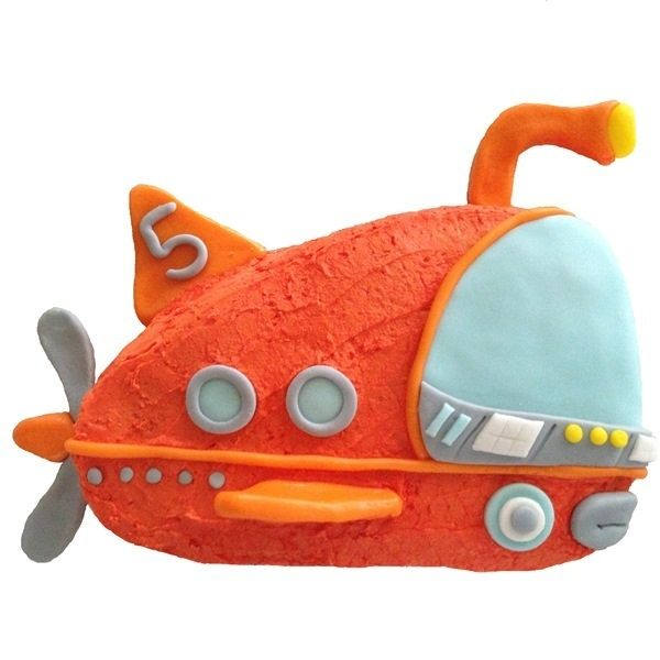 Submarine Cake Rescue Kit $49.95 This fantastic DIY Cake Rescue Kit comes with all you need to Bake and Decorate this Submarine Cake including disposable baking tray, silver cake board, cake mix, icing, pre-coloured fondant and all other decorating ingredients. Heaps of fun!