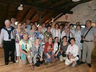 Visita guiada en el Museo Bustos de Torquemada realizada por la Asociación Turismo Cerrato. Palencia. Arlanza.