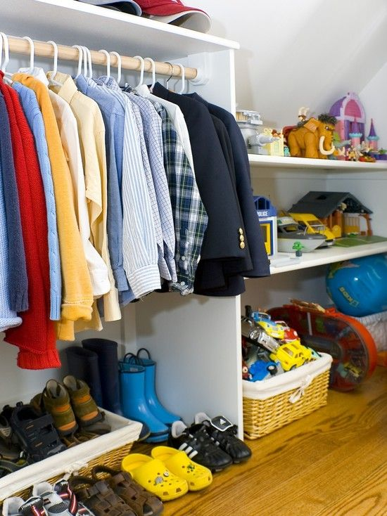 dormer closetChild Room, Bedrooms Closets, Attic Bedrooms, Closets Design, Ceilings Design, Amoroso Design, Closets Storage, Kids Closets, Attic Closets