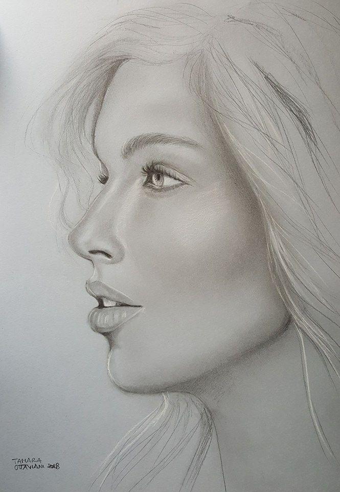 #donna #woman #portrait #ritratto #profilo #disegno #manolibera #matita #charcoral #white #picture #vendita #sale  #paginafacebook #artbytamara #followme #art #arte #disegnoartistico