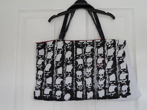 skull t-shirt handbag