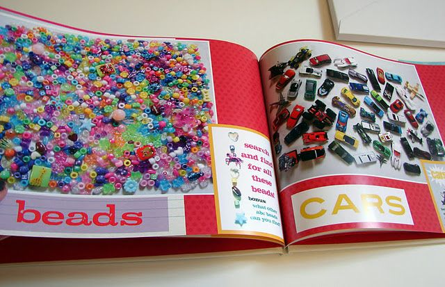 I so could make this I Spy book for my kids!!!!