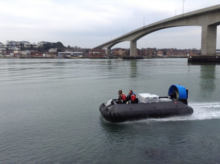 Carbon Infinity 7 to 8 Seat Commercial Hovercraft