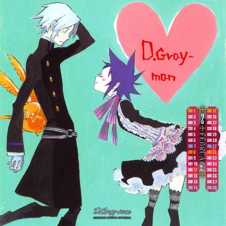 Calendario 2009 (manga) - Allen y Road >w