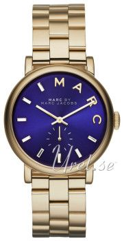 Marc by Marc Jacobs Blå/Gulguldtonat stål Ø36.00 mm