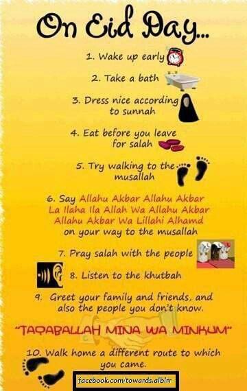 On Eid Day..