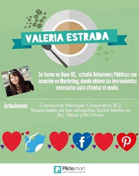 Conoce más de Valeria Estrada en conect@dos 2014
