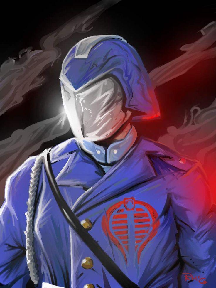 Cobra commander by rekmac.deviantart.com on @deviantART